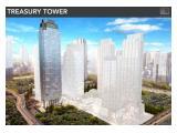 DIJUAL CEPAT di BAWAH PASAR OFFICE DISTRICT 8 TERMURAH @ SCBD TREASURY TOWER – 1 Floor Size 2.722 m2