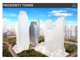 DIJUAL CEPAT DI BAWAH PASAR : OFFICE DISTRICT 8 TERMURAH @SCBD PROSPERITY TOWER, 1 FLOOR Size 1.958 sqm