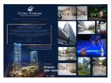 Dijual typical unit strata title office Citra Towers Kemayoran