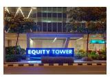 Dijual Office Space di Equity Tower