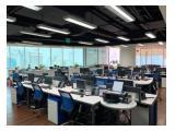 jual ruang kantor siap pakai di area Kuningan Jl.Prof Dr Satrio Jakarta Selatan