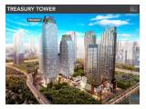 Dijual Termurah 53juta/ m2 Office District 8 SCBD 133 m2 Survey Segera 081807005758
