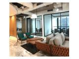 Dijual Office New Condition Treasury Tower District 8 Kawasan SCBD - Fully Furnished, Luas 318 m2