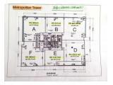 Jual Office Metropolitan Tower, 1 Lantai Seluruhnya / Per Unit, Strata Title
