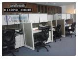 Jual Ruang Kantor @ Gandaria 8 Office Tower Luas 165 m2 (31 Juta/m2) Low Zone Furnished