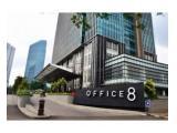 Dijual Office 8 @ Senopati luas 106m2 kondisi tersewa, good investment !!