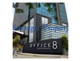 Dijual office space 106m2 Office 8 @ Senopati, sedang tersewa, ggod investment !!!