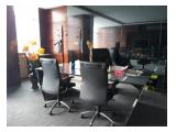 DIJUAL / FOR SALE : Office Space EQUITY Tower Size 325 sqm Fully Furnished