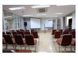 Dijual Cepat Harga BU, Ruang Perkantoran di Grand Slipi Tower, Size 388 m2, Fully Furnished (Nego)