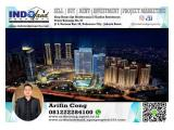Jual Murah Office Space 136m2 Soho Capital at Central Park, Podomoro City, Tanjung Duren, Jakarta Barat.